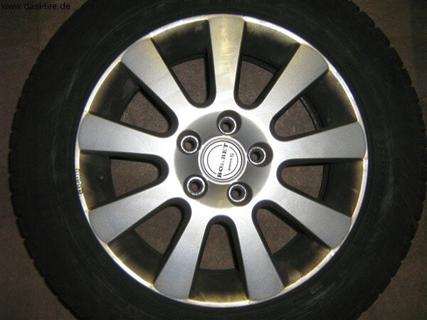 """16"""" Borbet-Alufelgen+Winterreifen Audi A6 (4F)"""