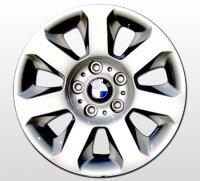 """16"""" original BMW-Alufelgen+Winterreifen 5er E60, E61"""