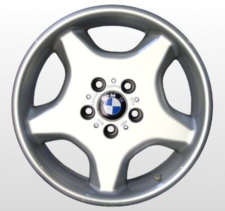 """16"""" BMW -Alufelgen für 5er E34"""