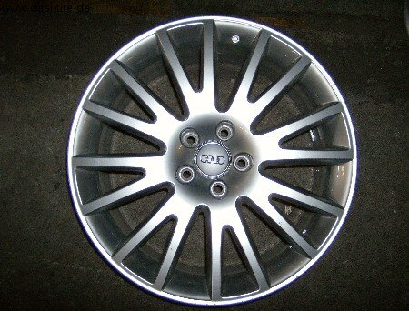 """19"""" orig. Audi-Alufelge für A6 4E"""