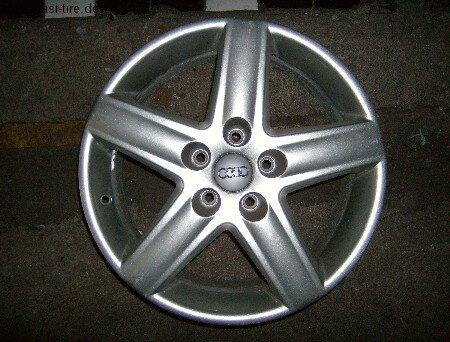 """17"""" orig. Audi-Alufelge für A4 8E"""