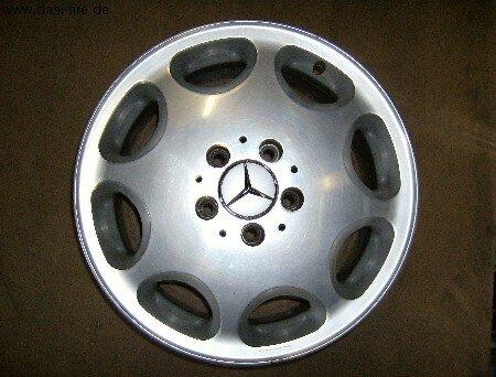 "16"" Mercedes-Benz-Alufelgen für S-Klasse W140"