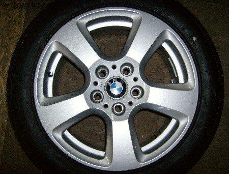 """17"""" BMW-Alufelgen+Winterreifen 5er E60, E61"""