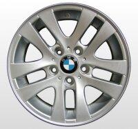 """16"""" BMW-Alufelgen+Winterreifen 3er E90, E91, E92, E93"""