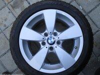 """17"""" BMW Alufelgen + Winterreifen 5er E60, E61 allrad"""