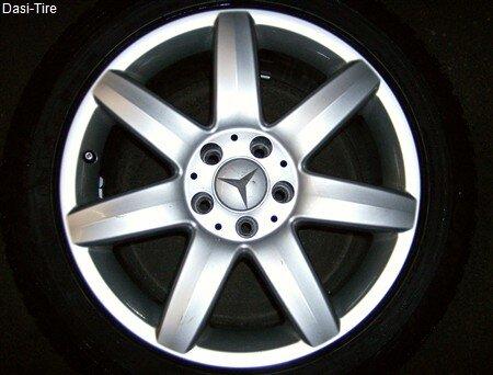 "17"" Mercedes-Benz Alufelgen + Winterreifen SL W230"