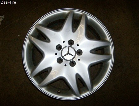 "17"" Mercedes-Benz - Alufelgen für S-Klasse W220"