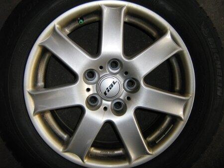 "17"" Rial Alufelgen + Winterreifen Volvo XC90"