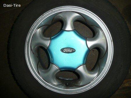 "13"" Ford Alufelgen + Sommerreifen KA"