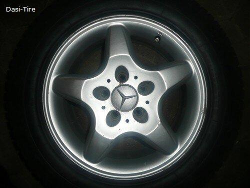 """16"""" Mercedes-Benz Alufelgen für ML 163"""