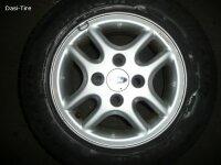 """13"""" Ford Alufelgen + Sommerreifen Fiesta 4"""