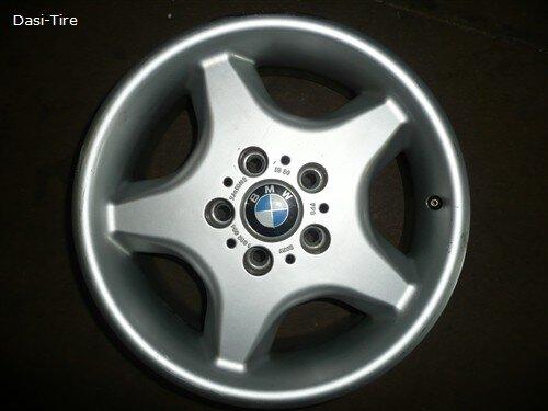 """16"""" orig. BMW-Alufelgen für 5er BMW E34"""