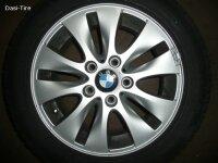 """16"""" BMW Alufelgen + Winterreifen 1er E81, E82, E87, E88"""