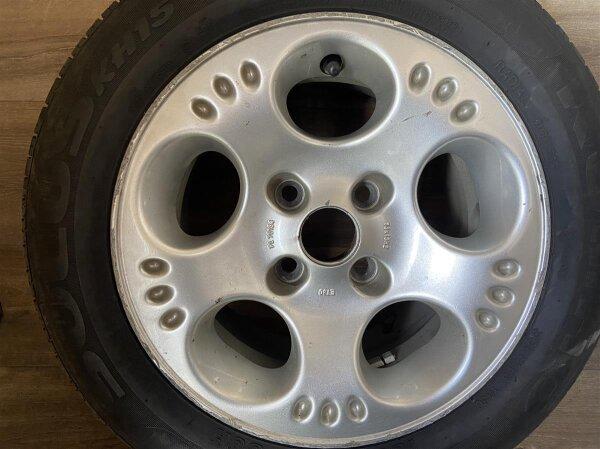 "13"" Centra Alufelgen + Sommerreifen Nissan Micra K10"
