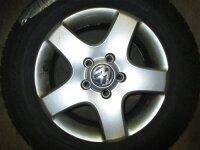 """17"""" VW Alufelgen + Winterreifen VW Touareg 7L"""