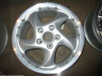 """18"""" Motion Wheels-Alufelgen für Porsche 911..."""