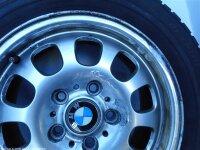 """15"""" BMW Alufelgen + Winterreifen 3er BMW (E46)"""