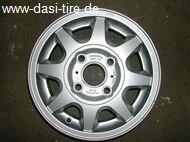 """13"""" Alufelgen f. Mazda 121, 323 gebraucht"""